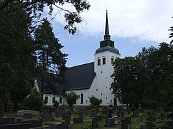 Valkeala church July 2013.JPG