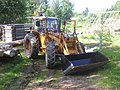 Valmet tractor with a front loader.jpg