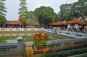 Temple of Literature, Hanoi - Thien Quang well