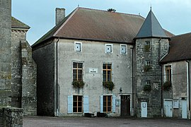 The town hall in Varennes-sur-Amance