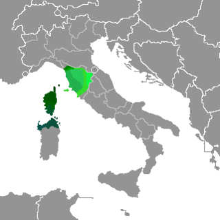 Italo-Dalmatian variety mainly spoken in the Italian region of Tuscany