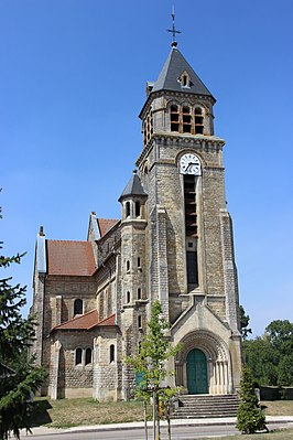 Kerk in Vaubecourt