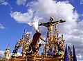 Venerable Hermandad del Santísimo Cristo de la Lanzada y María Santísima de la Caridad, Granda, Semana Santa 2009 (9).JPG