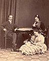 Vera with her sister Olga and brother-in-law George.jpg