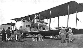 Vickers Vernon military transport aircraft version of the Vimy Commercial