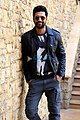 Vicky Kaushal snapped during Uri interviews at JW Marriott in Juhu.jpg