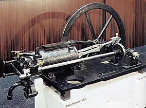 Nikolaus Otto - Otto's 1876 four cycle engine