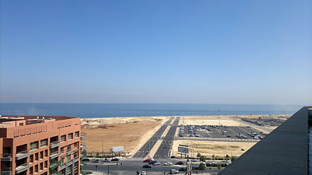 Land Reclamation in the Beirut Central District View from Nokia Beirut.jpg
