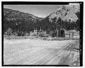 View looking north from McGraw Ranch Road. - McGraw Ranch, McGraw Ranch Road, Estes Park, Larimer County, CO HABS CO-175-1.tif