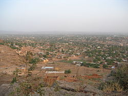 View over Bamako - 20th February 2005.jpg