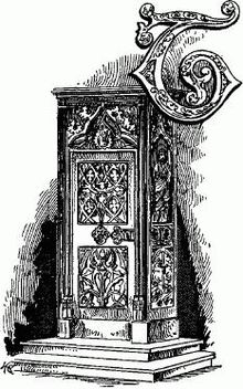 Storia dell 39 arredamento wikipedia for Mobili medievali