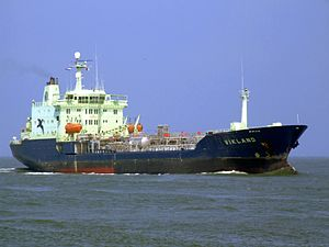 Vikland - IMO 9111759 - Callsign C6UL5 - Vikland p1 approaching Port of Rotterdam, Holland 03-Jun-2007.jpg
