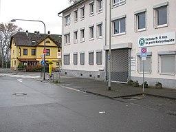 Vilbeler Landstraße in Frankfurt am Main