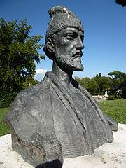 Shota Rustaveli Monument, Rome
