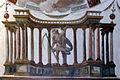 Villa medici, studiolo del cardinale, grottesche volta 03,2 tempio di plutone.jpg