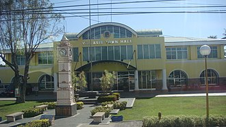 Villasis, Pangasinan - Villasis Municipal Hall along MacArthur Highway