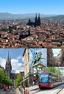 Clermont-Ferrand Prefecture and commune in Auvergne-Rhône-Alpes, France