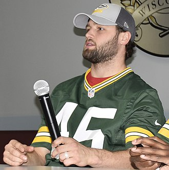 Vince Biegel - Biegel with the Green Bay Packers in 2017