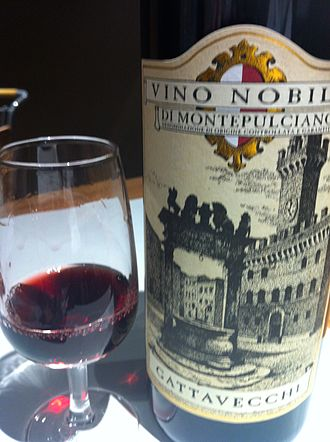 Vino Nobile di Montepulciano - A wine made from the Vino Nobile di Montepulciano DOCG.