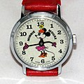 Vintage Minnie Mouse Character Watch By Bradley Time, Swiss Made, Manual Wind, Copyright Walt Disney Productions (16912441719).jpg