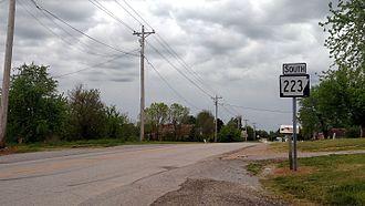 Arkansas Highway 223 - Highway 223 in Viola