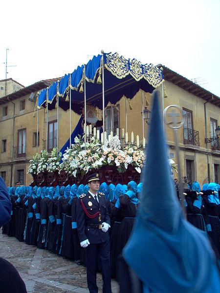 Archivo:Virgen de la Pasión León Bienaventuranzas.JPG