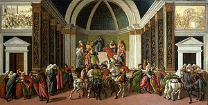 The Story of Virginia (Botticelli) - Image: Virginia Botticelli