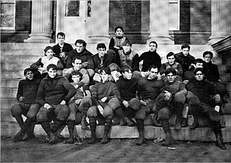 1895 Virginia Cavaliers football team - Image: Virginia Cavaliers football team (1895)