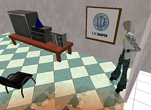 UC Davis School of Medicine - Image: Virtual Hallucinations, UC Davis