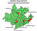 Visakhapatnam district APSRTC Depot map.png