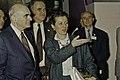 Visite de Mr Curien au SIA 1991-12-cliche Jean Weber.jpg