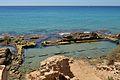 Vista dels vivers de peixos de la vil·la romana dels Banys de la Reina, Calp.JPG