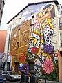 Vitoria - Canton de Santa Ana, mural 'Cubiertos de cielo y estrellas' 3.jpg