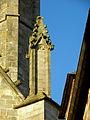 Vitré (35) Église Notre-Dame Façade sud 8ème pinacle.JPG