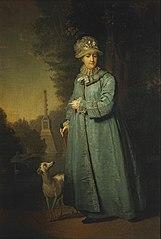 Catherine II à Tsarskoïe Selo