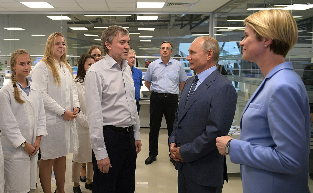 Vladimir Putin visited the Sirius Educational Centre (2018-09-01) 02.jpg