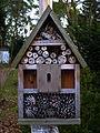 Vogelpark Viernheim 2012 Kleines Insektenhotel.JPG