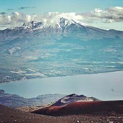 volcan calbuco volcan osorno: