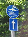 Volcano evacuation route sign.jpg