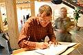 Volker Beck signing book.jpg