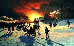 Yefim Volkov - Image: Volkov Efim. Fire