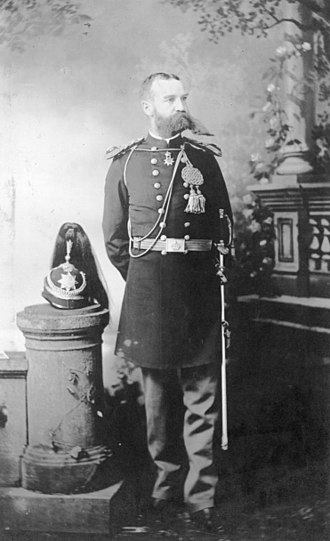 Volney V. Ashford - Colonel Volney V. Ashford in Honolulu Rifles dress uniform.