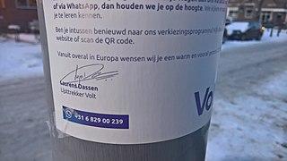 File:Volt Europa campaign poster, Hillegersberg, Rotterdam (2021) 02.jpg