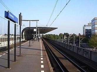 Hofwijck - Image: Voorbuerg Station perrons