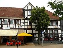 Zeitweiser Aufenthaltsort im Wohnhaus des Kaufmanns und Vorsfelder Bürgermeisters Carl Grete (Quelle: Wikimedia)