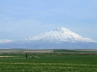 Mount Hasan mountain in Aksaray, Turkey