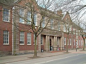 Joseph William Mellor - former technical college, Stoke, now part of Staffordshire University
