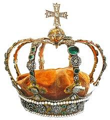 Königskrone im Alten Schloss (Quelle: Wikimedia)