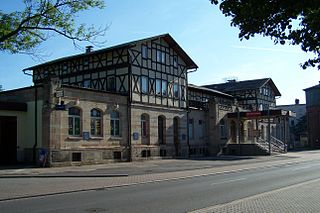 Bad Salzungen station railway station in Bad Salzungen, Germany