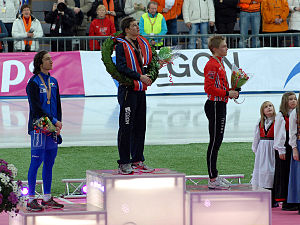 2009 World Allround Speed Skating Championships - Image: W Ch podium men 2009
